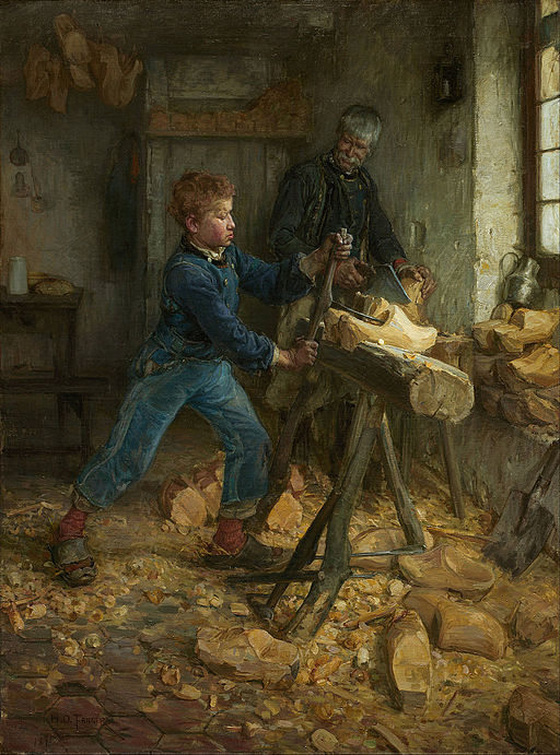 henry ossawa tanner 'the young sabot maker''