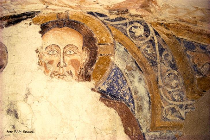 kerk majestas domini fresco ename