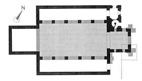 kerk plattegrond