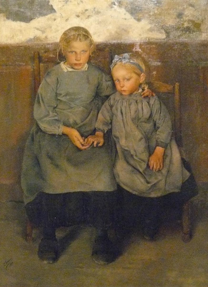Léon Frédéric, Twee Waalse boerenkinderen