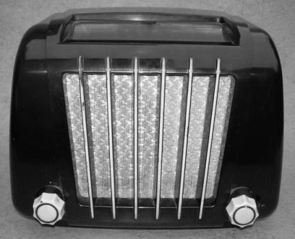 oude radio kopie