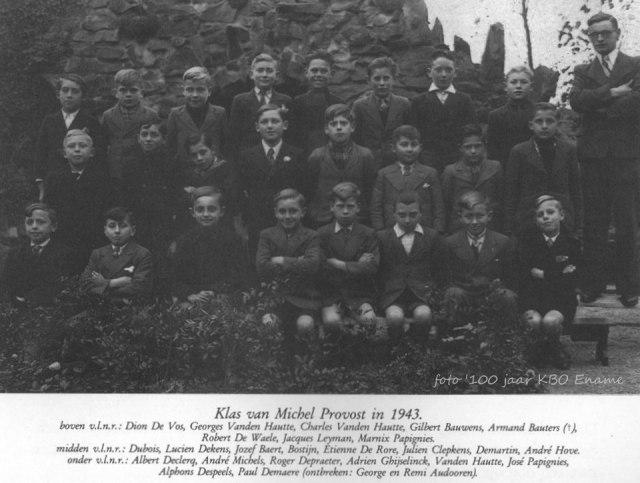 school kloosterschool 1943 meester provost