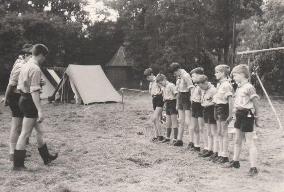 scouts kamp molenbeersel 1968