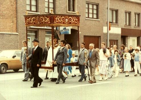 processie jaren tachtig