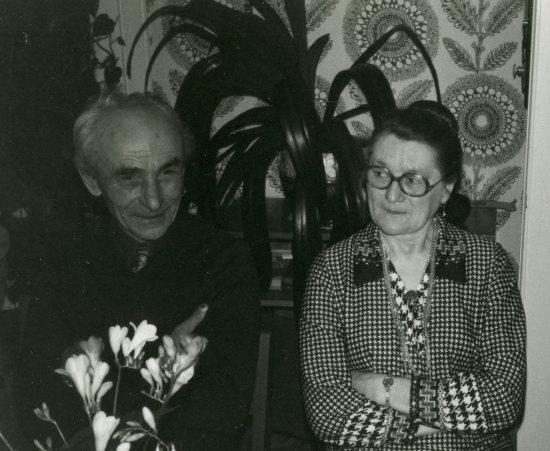 Fons Van Lierde en Simonne